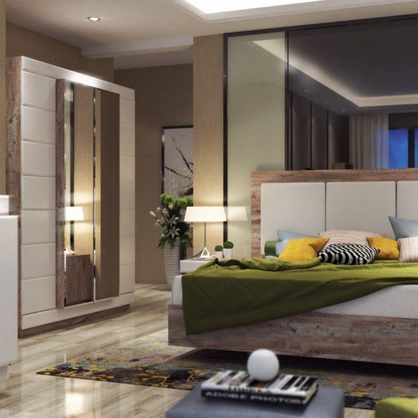 Спальня Роксет КМК 0554