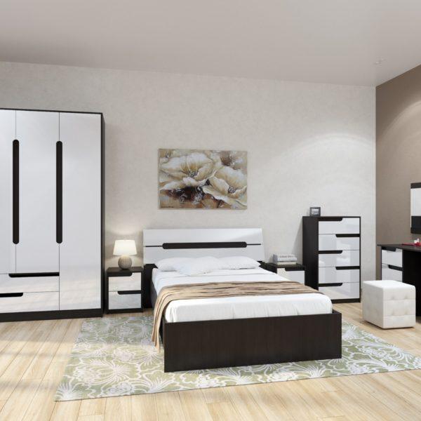 Спальня Гавана (Белый Глянец)