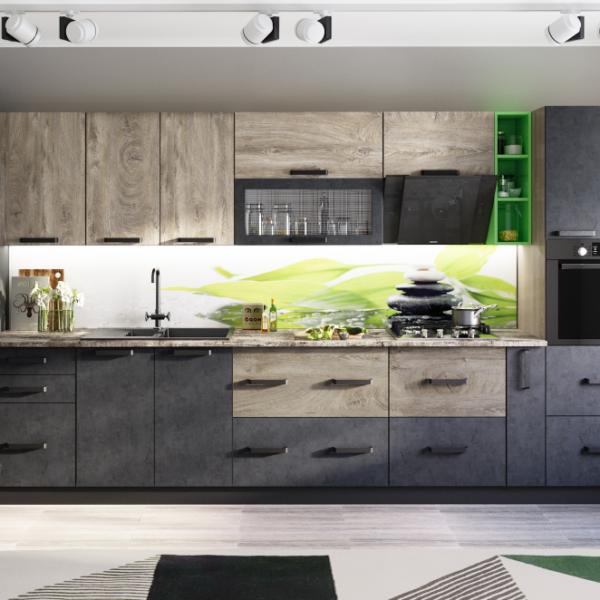 Модульная кухня Крафт (BTS)