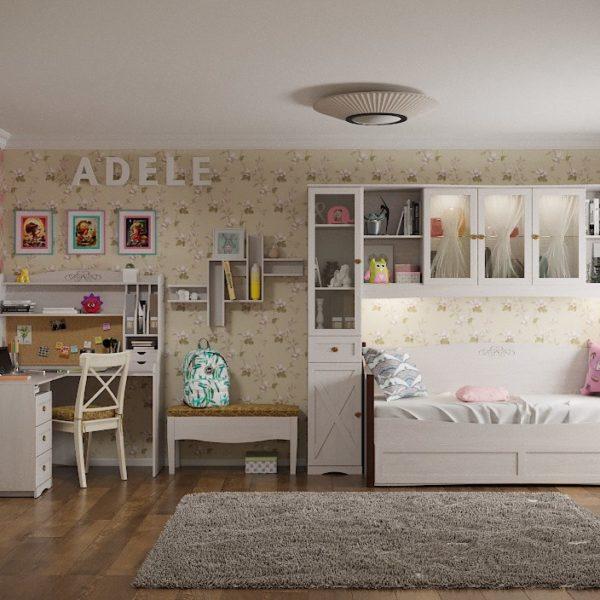 Молодежная комната ADELE (Адель), Ясень Анкор светлый