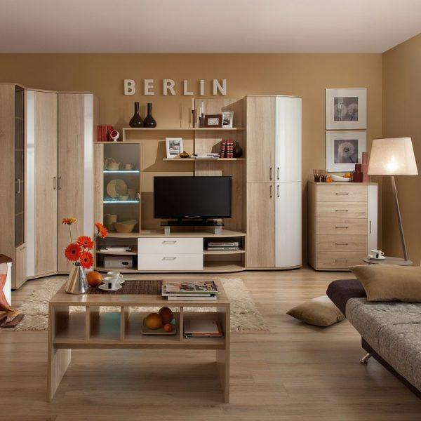 Гостиная BERLIN Берлин (Сонома/Глянец)