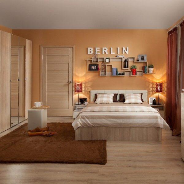 Спальня BERLIN. Дуб Сонома