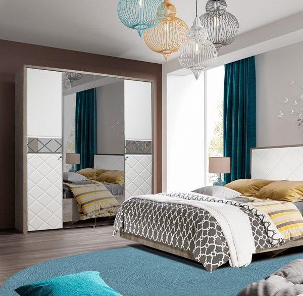 Спальня Кристал КМК 0650