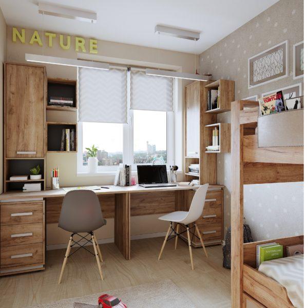 Молодежная комната NATURE