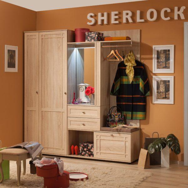 Прихожая Sherlock (Шерлок), Дуб Сонома