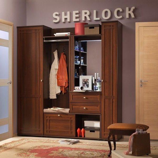 Прихожая Sherlock (Шерлок), Орех шоколадный