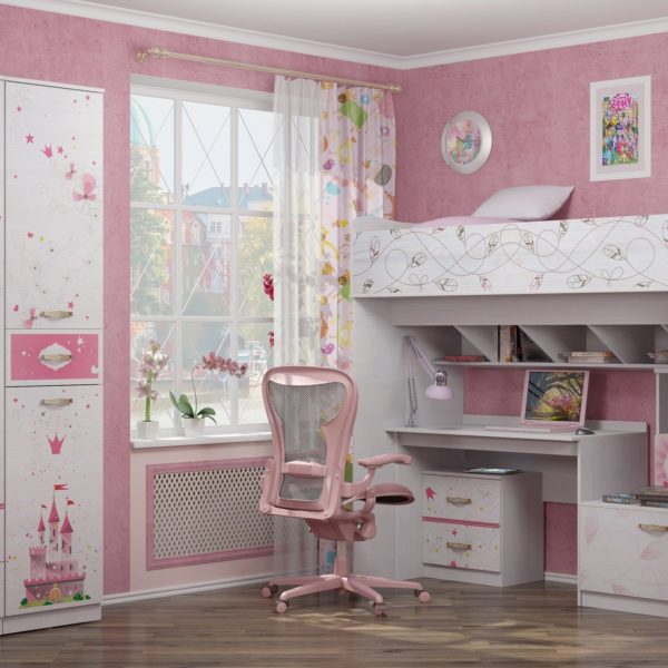 Детская комната Принцесса