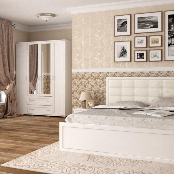 Спальня Ника-Люкс (дуб Бодега)
