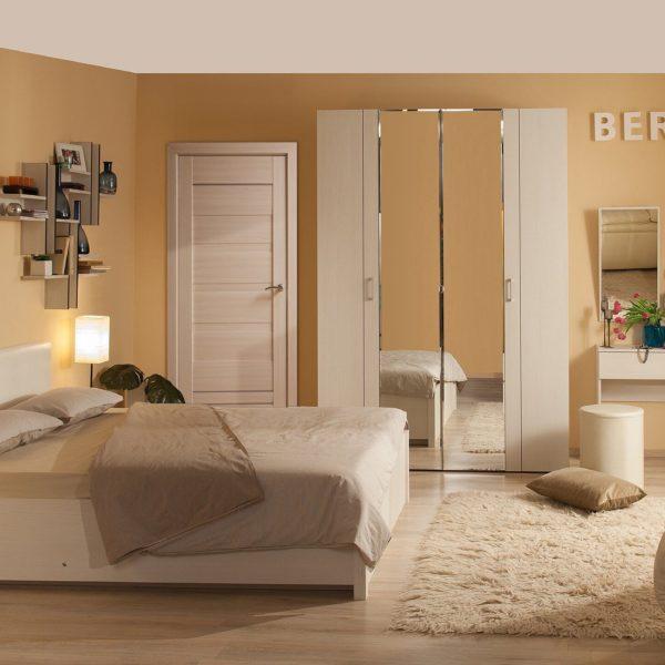 Спальня BERLIN. Бодега Светлый