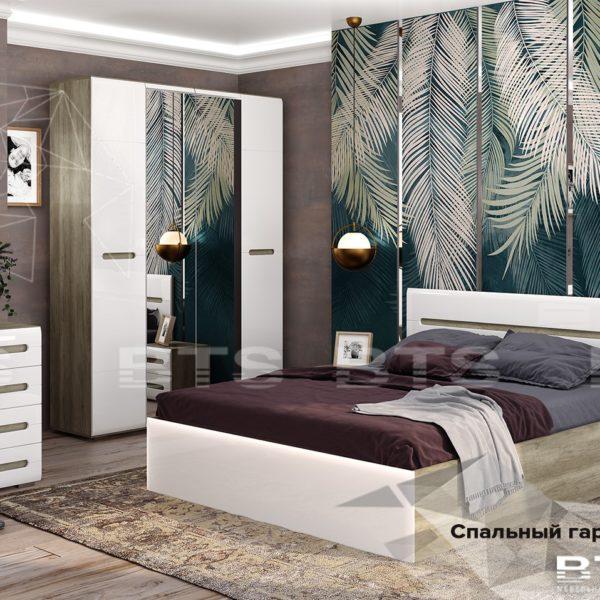 Спальня Наоми (Белый глянец)