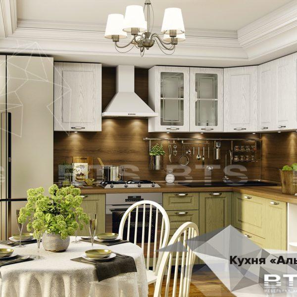 Модульная кухня Альфредо (BTS)