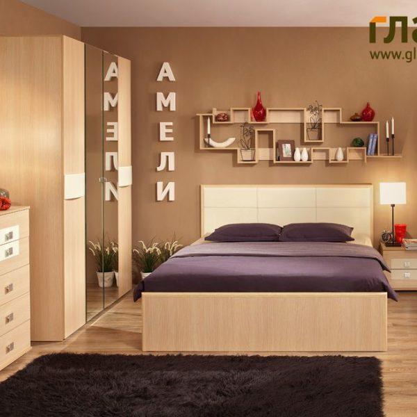 Спальня Амели (дуб беленый)