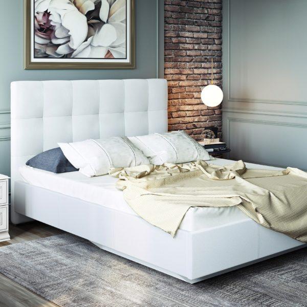 Кожаная кровать Сонум