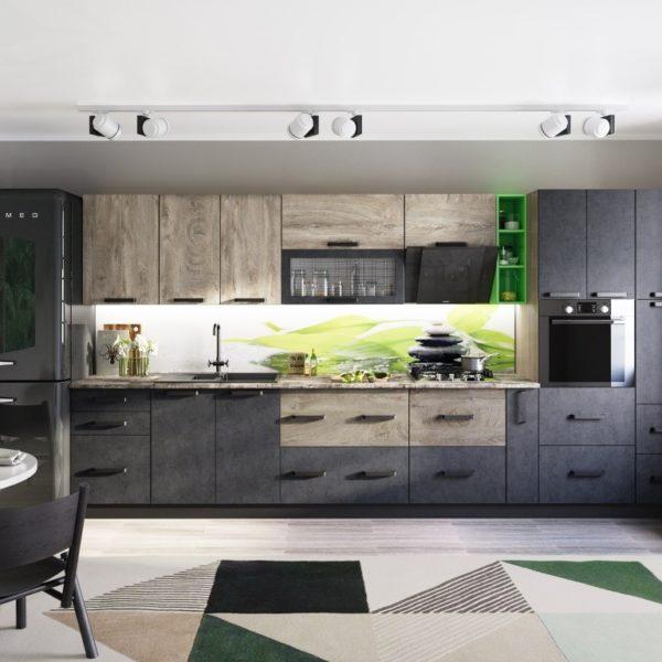 Модульная кухня Крафт (DOMANI)