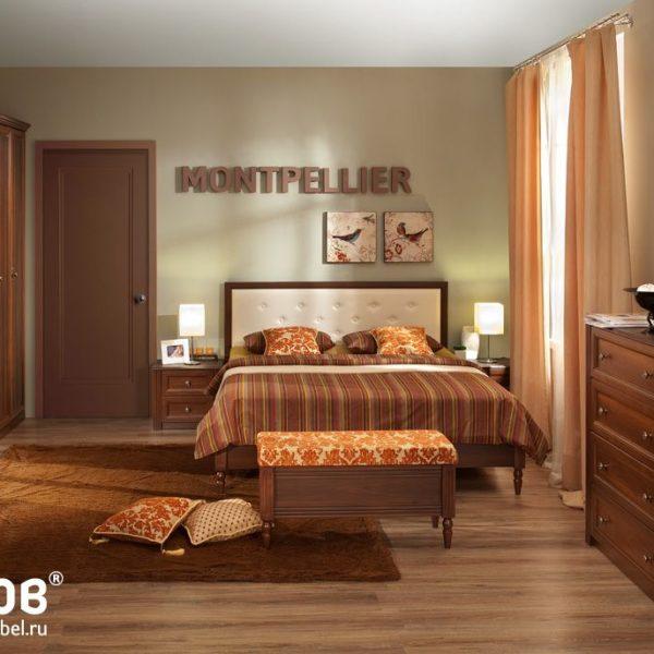 Спальня MONTPELLIER (Орех Шоколадный)