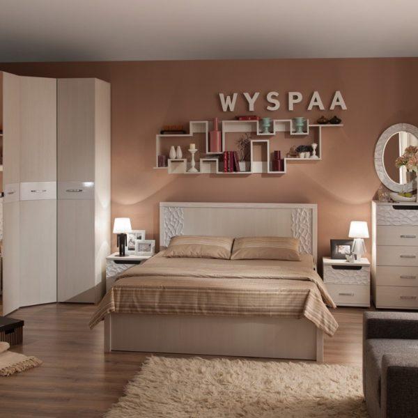 Спальня WYSPAA (Виспа), Бодега Светлый